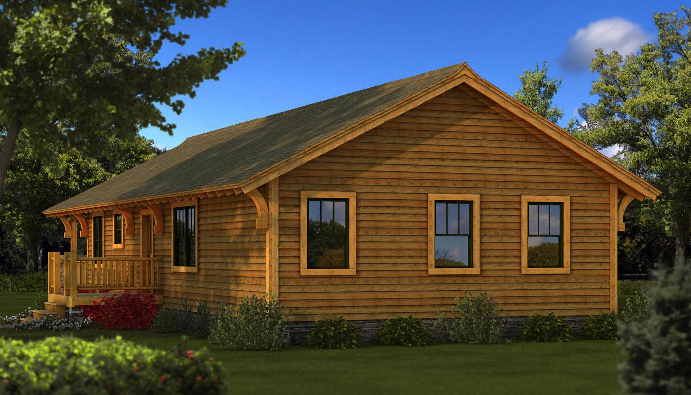 Bungalow Plans Amp Information Log Cabin Kits