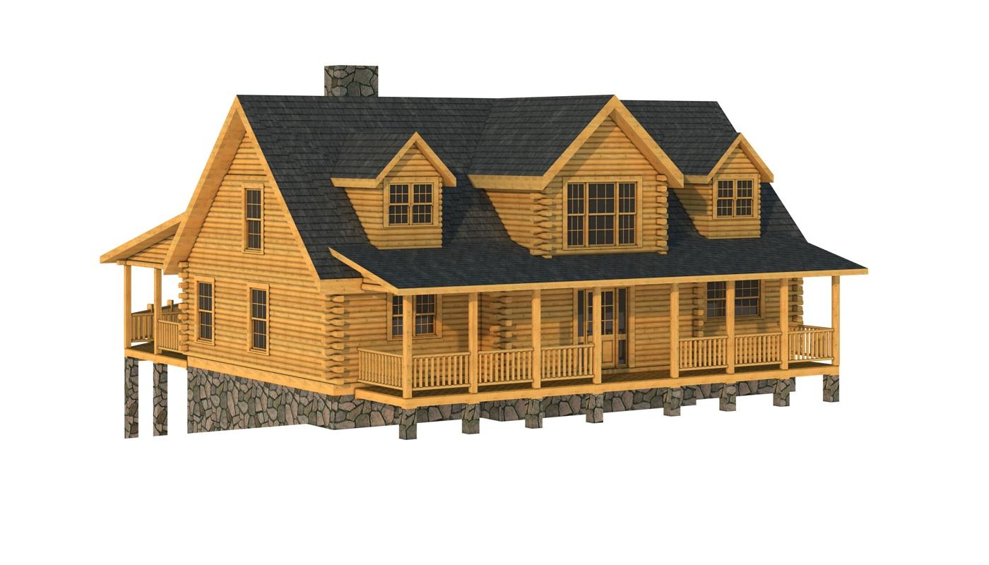 Floor Front Elevation Zip : Giles plans information log cabin kits