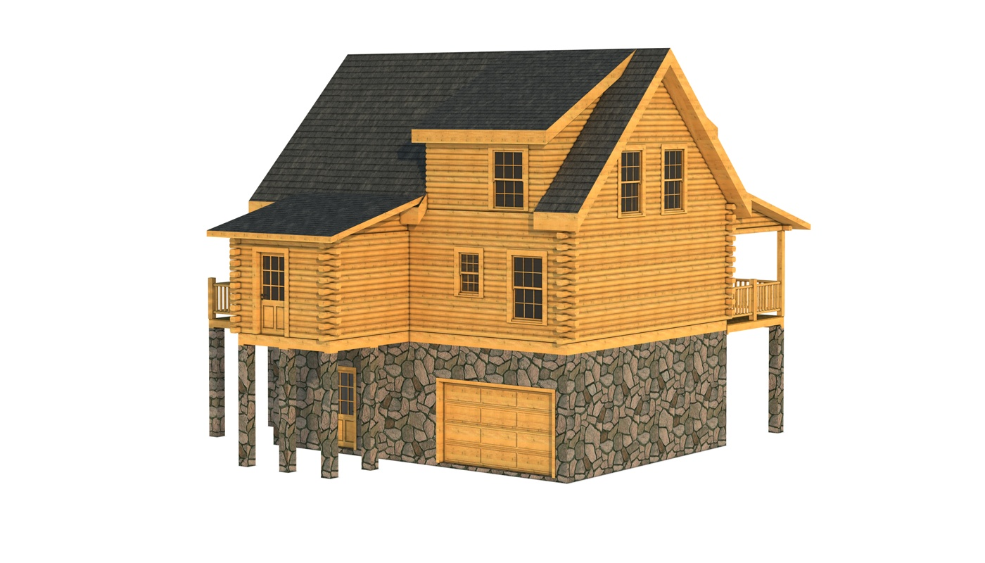 Harnett plans information log cabin kits for 2 bed 2 bath log cabin kits