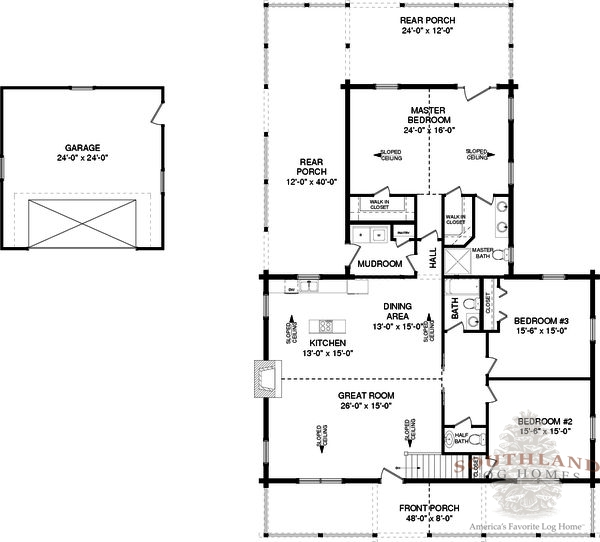 Houston plans information log cabin kits for House plans houston