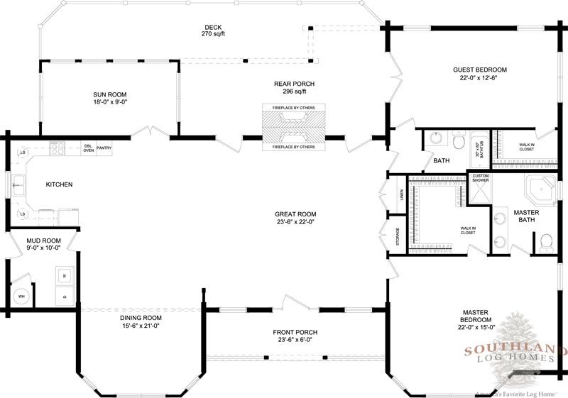 Tucson plans information log cabin kits for Tucson house plans